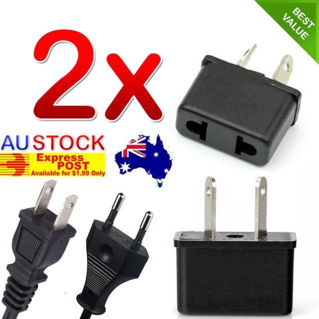 US EU USA JAPAN ASIA to AU Australia Plug AC DC Power Adapter Travel Converter