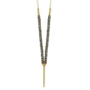 DANSK-SMYKKEKUNST-Schmuck-Augusta-Natural-Shell-Necklace-Halskette-Gold-9C9015
