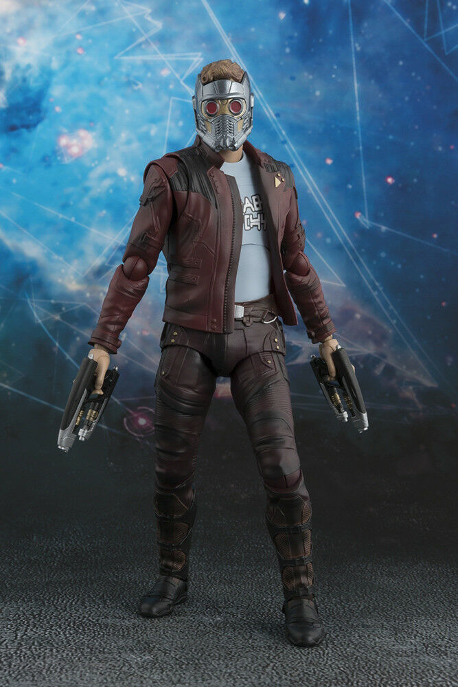 GUARDIANS OF THE GALAXY VOL 2 SH FIGUARTS STAR-LORD FIGURE & EXPLOSION SET