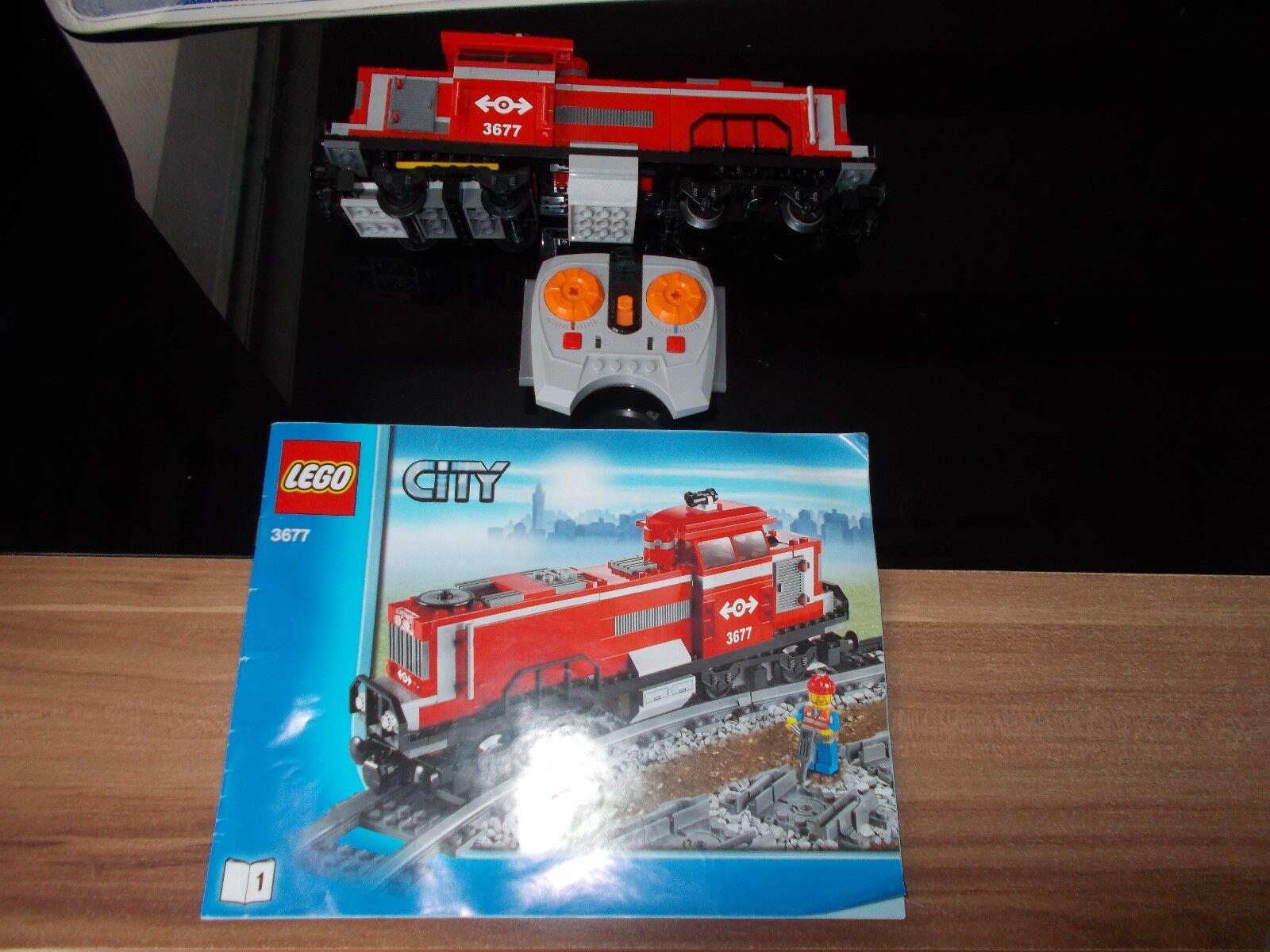 Lego® City Eisenbahn - RC - aus 3677 - Set 1 - MaK - Diesellok + FB (mit BA)