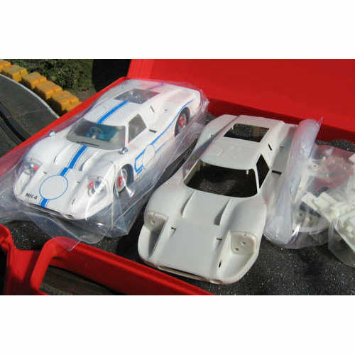 NSR Ford Mk IV Presentation White & Spare Body Kit NSR1717