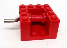 Lego 30636c02# 1x Seilwinde 1x4x2 Rot 4609 4605 4657