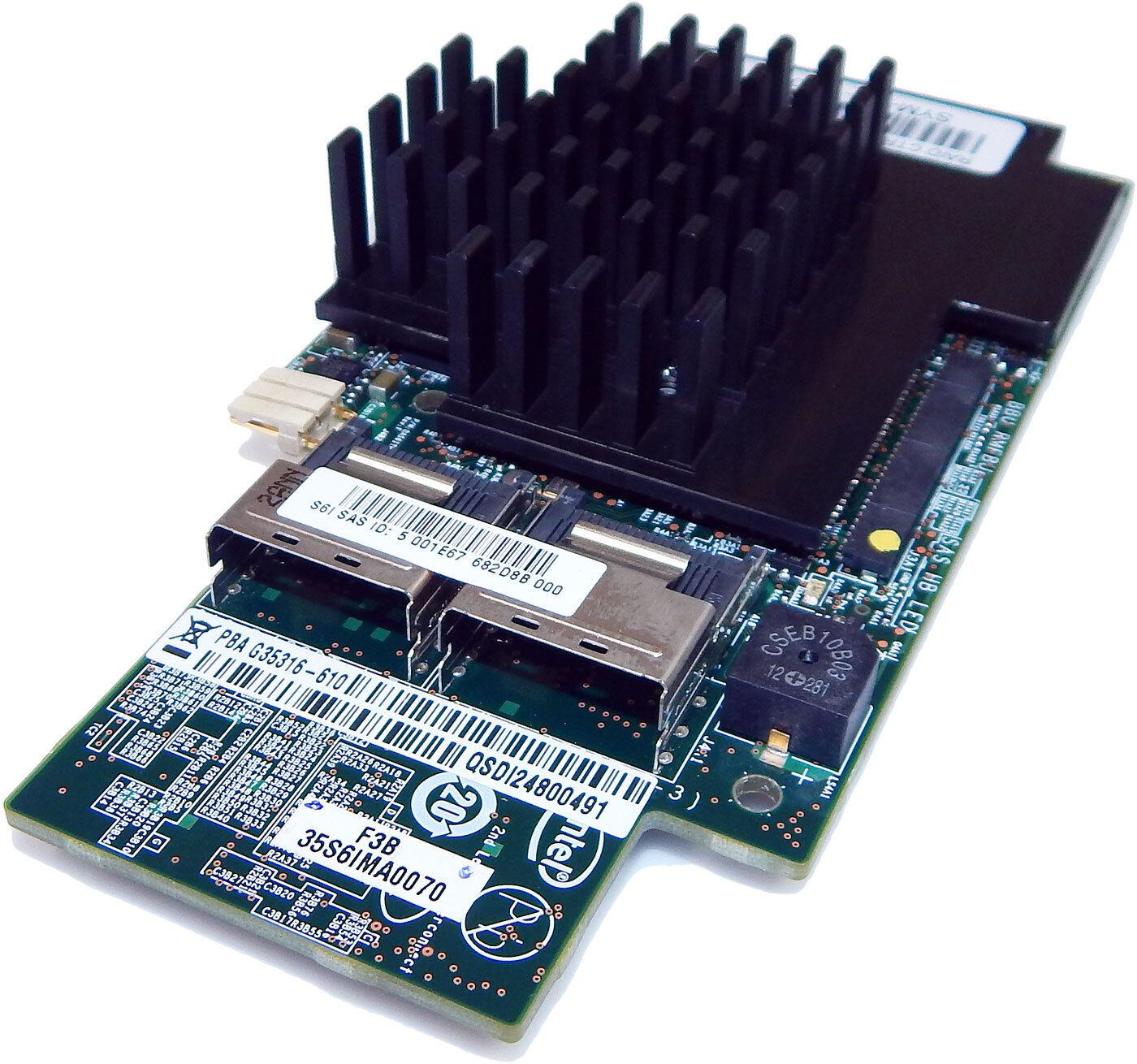 INTEL X8 6Gb/S Integrato Raid Modulo RMS25CB08 370-1020-02 G35316-610