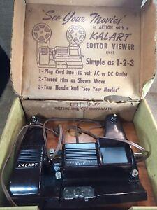 Vintage-Kalart-Editor-Viewer-Eight-Model-EV-8-8mm-Movie-Film-Viewer-Splicer