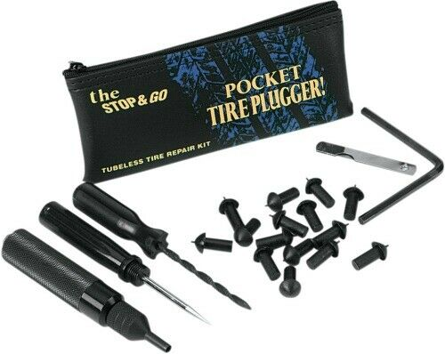 Stop Go International Stop Go Pocket Tire Plugger for Tubeless Tires 1000