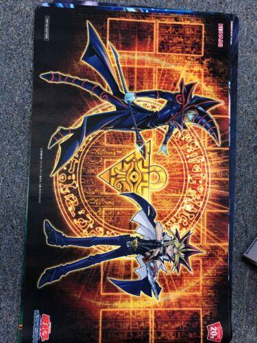 Yugioh Konami 20th Anniversary Dark Magician And Yugi Playmat NEW