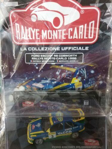 1:43 FORD ESCORT RS COSWORTH 1996 RALLYE MONTE-CARLO C IXO  MIB DIE-CAST