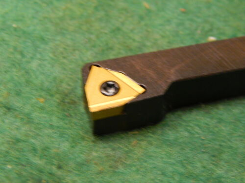 "Komet 5//16/"" Square Shank Lathe Turning Tool R.B PU-.312-R 02-30 w//2 New Inserts"