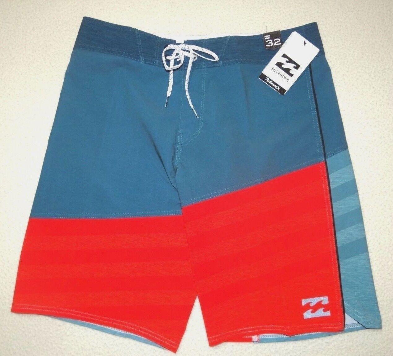 New Billabong Mens Slice A Frame Platinum X 20  Surf Swim Shorts Boardshorts 32