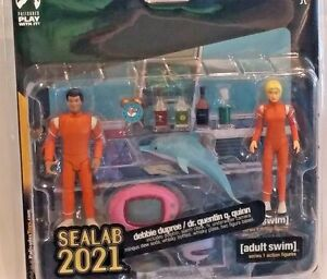 Figure Debbie Set Sealab Dr Palisades Action Dupreeamp; Adult Swim Y76yvbfg