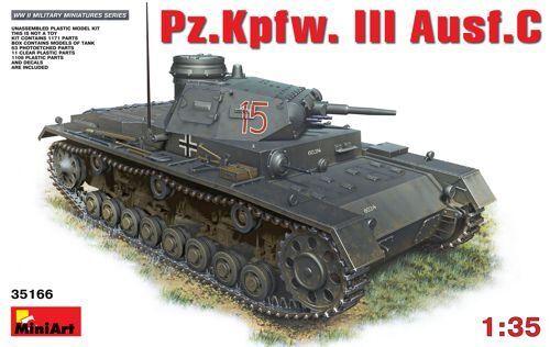 Miniart 1 35 Panzer III Ausf C