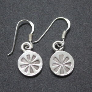 244f5b190 Image is loading Hill-Tribe-Fine-Sterling-Silver-Earrings-Ethnic-Small-