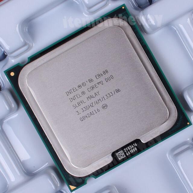 Original Intel Core 2 Duo E8600 SLB9L Prozessor 3.33 GHz 1333 MHz LGA 775 Sockel