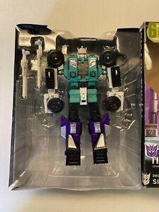 Transformers Titans Return Leader Six Shot & Decepticon Revolver Complete w/Box