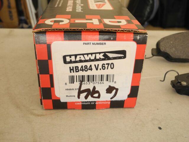 Hawk Performance HB484V.670 Disc Brake Pad Front