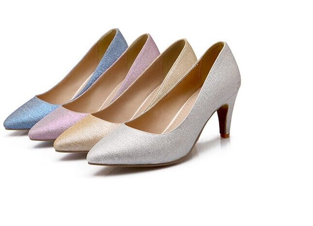 shoes Decolletage woman stiletto heel 7 cm avail in 4 colours 8430