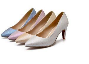 8430 Tacón De Fan 4 Zapatos Salón 7cm Mujer Detalles En Aguja Colores PZkOiXu