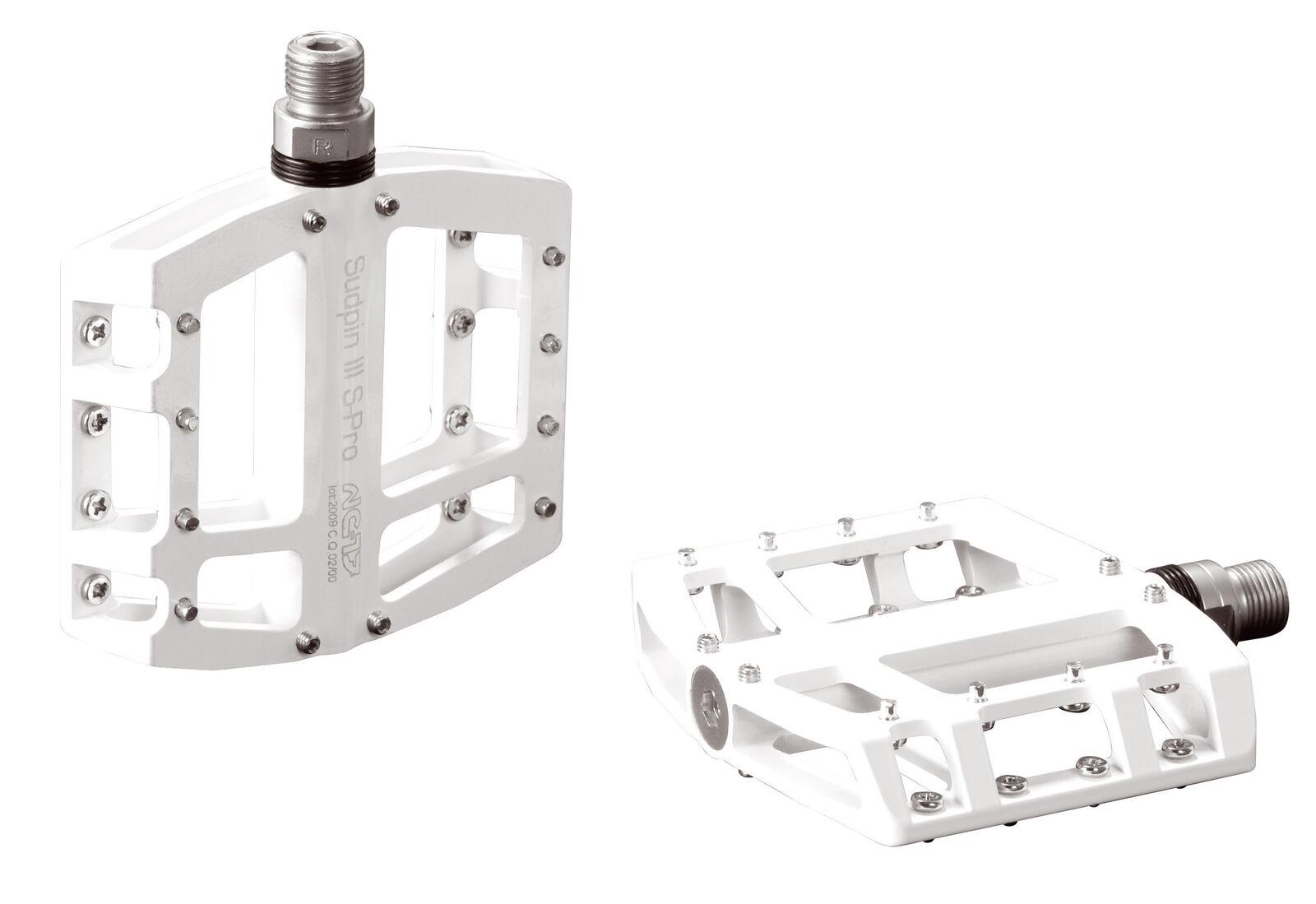 Nc-17 sudpin III cnc bicicleta pedal Weiss