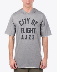 Flight Short Sleeve Hooded Top