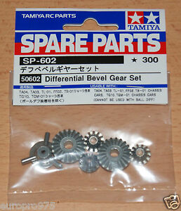 Tamiya-50602-Differential-Bevel-Gear-Set-9405620-9405654-9805298-NIP