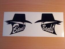 fun suzuki bandit x2 fuel tank helmet vinyl graphics decals sticker motorbike tt