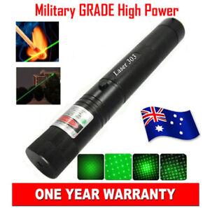 Military Grade High Power Green Laser Pointer Pen