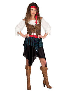 Kostum Piratin Storm Karneval Fasching Ebay