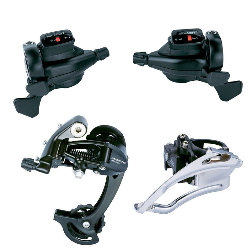 MicroSHIFT MTB Trip 3 x 9 Speed Group Set  Derailleurs Shifter For Shimano MTB  discount low price