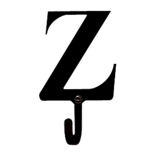 Wall Mount Coat Hook Alphabet Letter Initials A to Z Available Bath Closet Hook