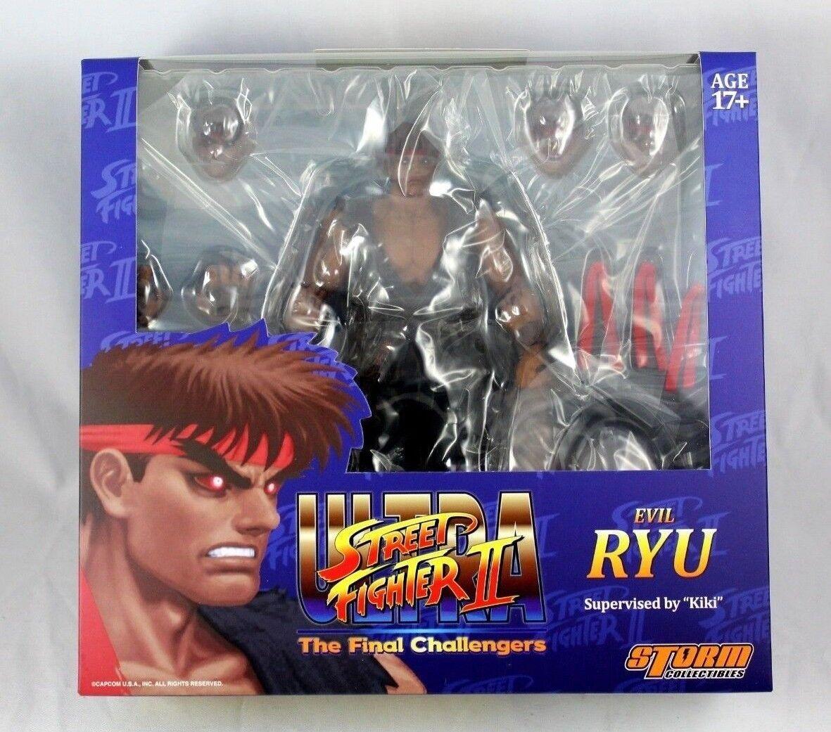 calidad fantástica Storm Coleccionables Street Fighter II Evil Evil Evil Ryu Figura 1 12 Escala Ultra  Disfruta de un 50% de descuento.