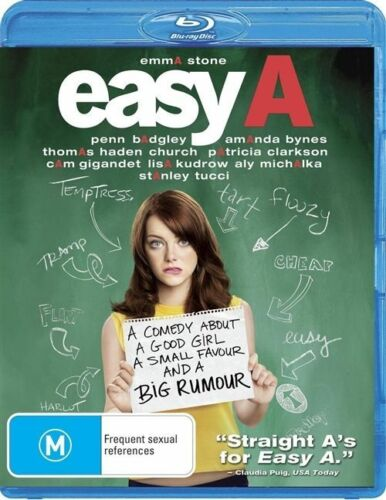1 of 1 - Easy A - Blu-ray, 2011 (Like New)
