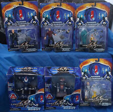 Lost In Space MOC MIP Figure Lot Dr. Smith Will Judy Prof. John Robinson Robots