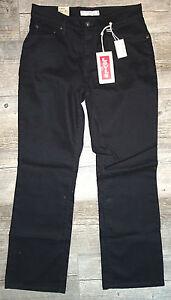 3e4839607d2 LEVI S Women s 550 Relaxed Boot Cut Jeans Black Short