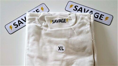 SAVAGE NOMEX SFI 3.3 UNDERWEAR TOP AND BOTTOM X LARGE