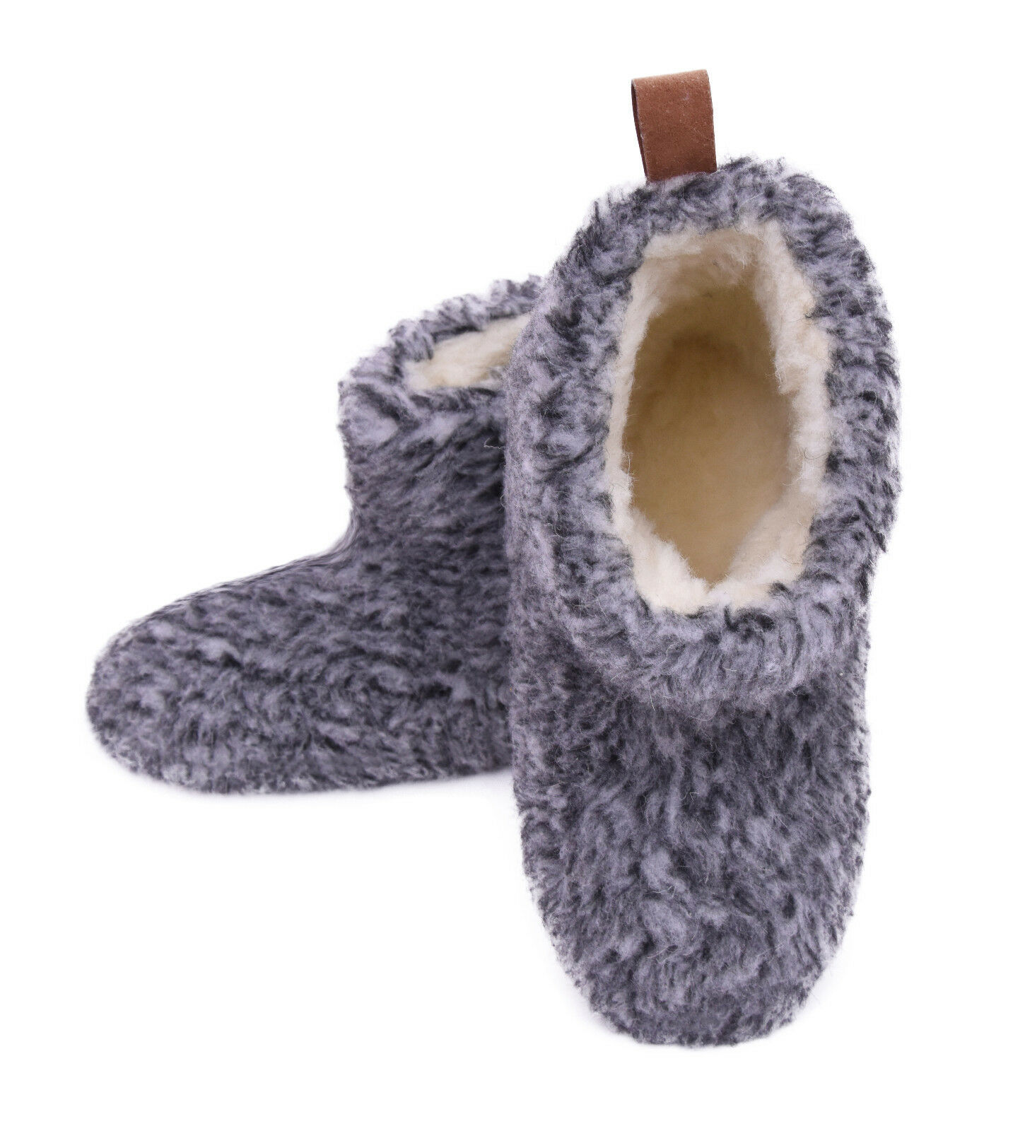 Scandinavian slipper shoes, shoes, Sheepskin wool slipper house shoes, shoes, boots -- Unisex 0dc449