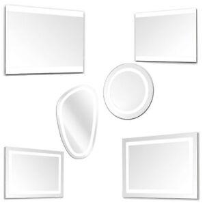 Specchi e specchiere a led bagno design moderno varie forme e ...