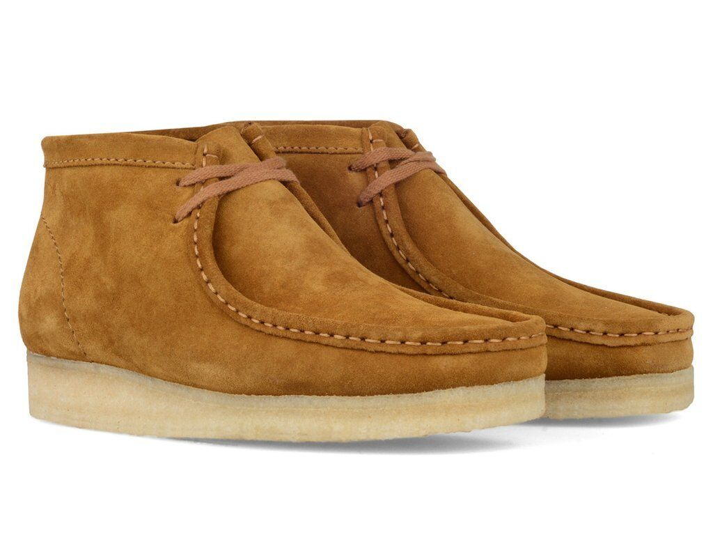 Clarks Originals Mens Ut  Wallabees Bronze   Brown Suede  UK 9.5 G