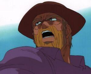 Jojo's Bizarre Adventure OVA Anime Cel Douga Animation Art Joseph Joestar 1993
