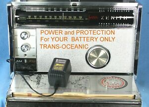 ZENITH-TRANS-OCEANIC-Royal-3000-and-1000-AC-ADAPTER-for-Battery-only-Units