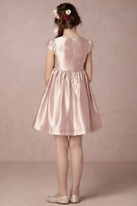 2a1c135e010 Image is loading NWT-Patachou-nude-blush-Satin-Flower-Girl-Bow-