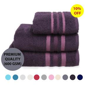 Toallas-de-Algodon-Egipcio-Fardo-600-GSM-Premium-Soft-Mano-Hojas-de-bano-toalla-de-bano