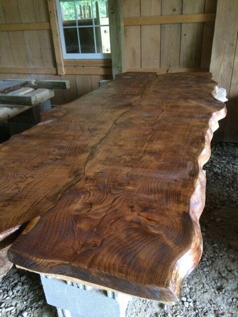 Handmade Live Edge Dining Room Table For Sale Online Ebay