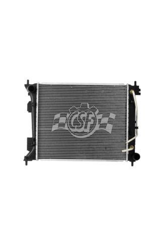 Radiator-1 Row Plastic Tank Aluminum Core CSF 3679 fits 13-14 Hyundai Veloster