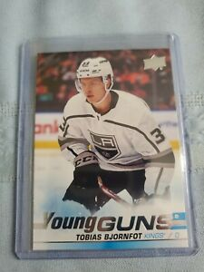 19-20-UPPER-DECK-ROOKIE-TOBIAS-BJORNFOT-SP-UD-YOUNG-GUNS-RC-LOS-ANGELES-KINGS