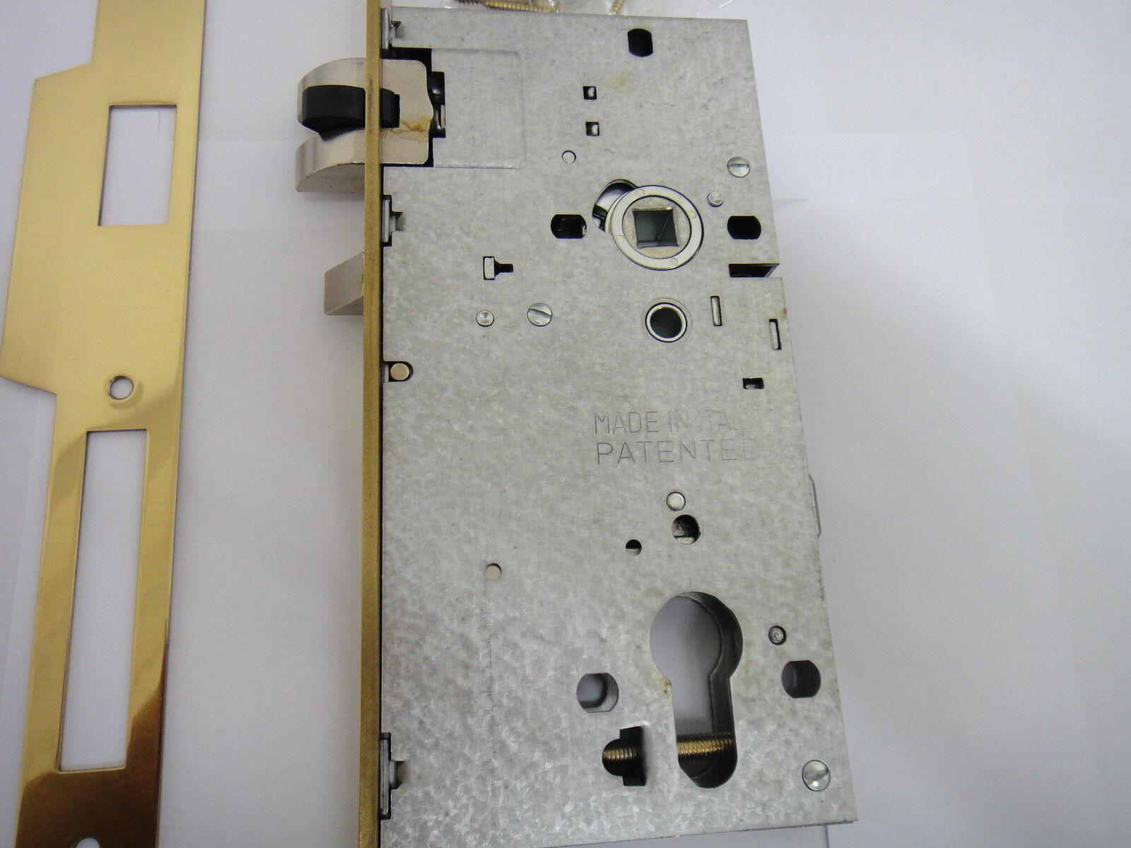 CISA EURO PROFILE LOCK CASE FOR ESCAPE// PANIC FUNCTION DOORS 43130-65 CHROME NEW