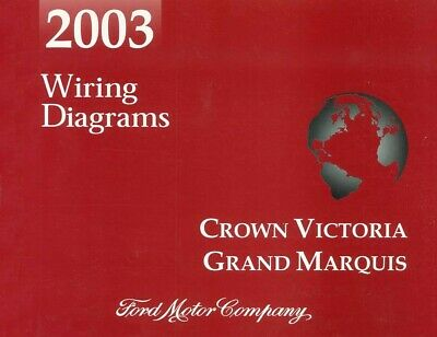 2003 Ford Crown Victoria Mercury Grand Marquis Wiring Diagrams Schematics |  eBayeBay