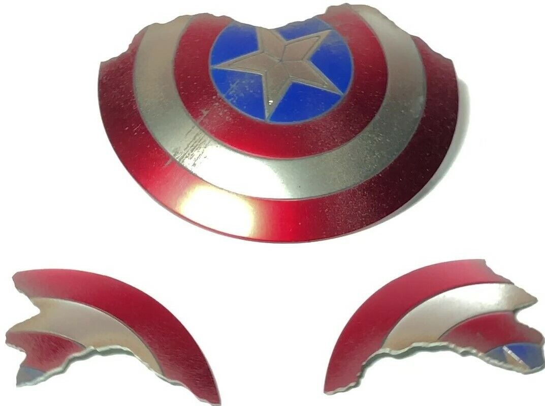Hot Toys MMS536 Endgame Captain America - BATTLE DAMAGED SHIELD - Avengers Steve on eBay thumbnail
