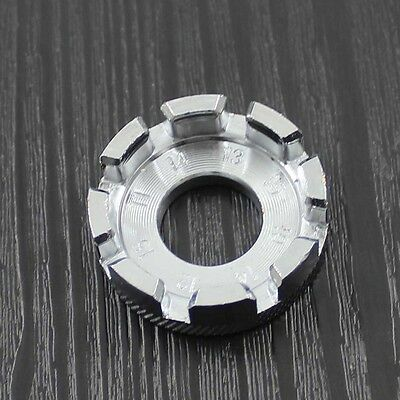 8Way Spoke Nipple Key Wheel Rim Wrench Spanner For Bicycle Bike Mini Repair Tool
