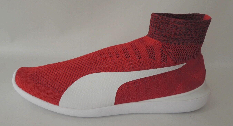 NEU Puma SF Evo Cat Sock 45 Ferrari Sockenschuhe Sneaker Schuhe 306043-01 ROT