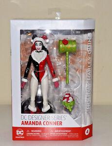 DC-Comics-Holiday-Harley-Quinn-Amanda-Conner-Designer-Series-DC-Collectibles-NEW